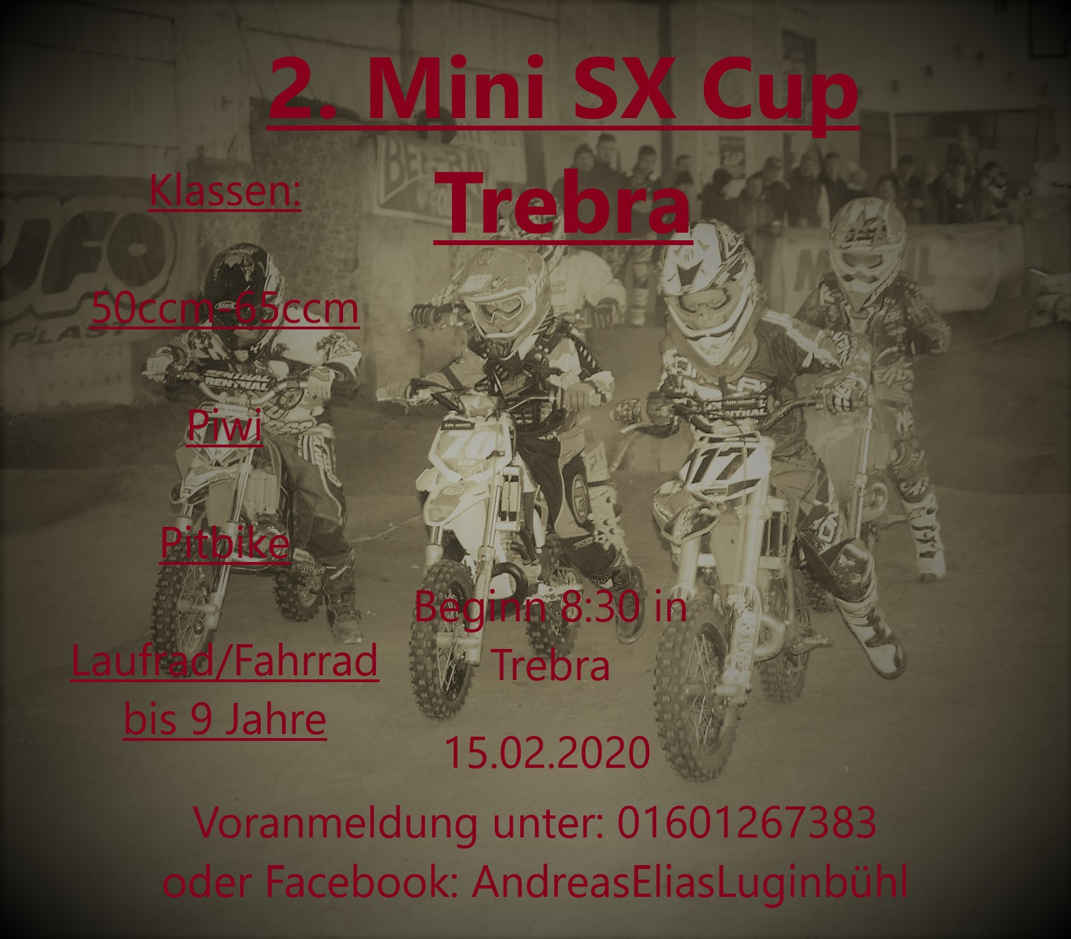 Mini SX Cup in Trebra am 15.02.2020