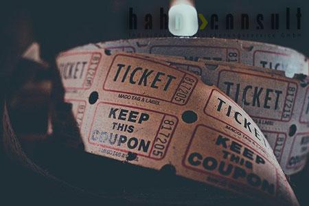 Ticket-Versicherung online oder mit Beratung von Hahn Consult