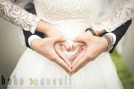 Hochzeits-Versicherung online oder mit Beratung von Hahn Consult